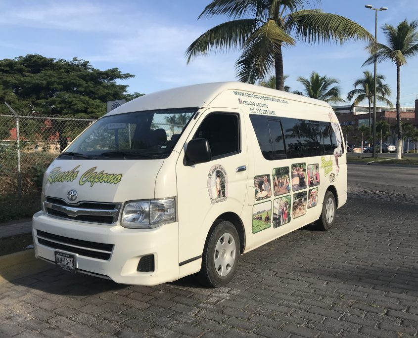 Rancho Capomo Shuttle